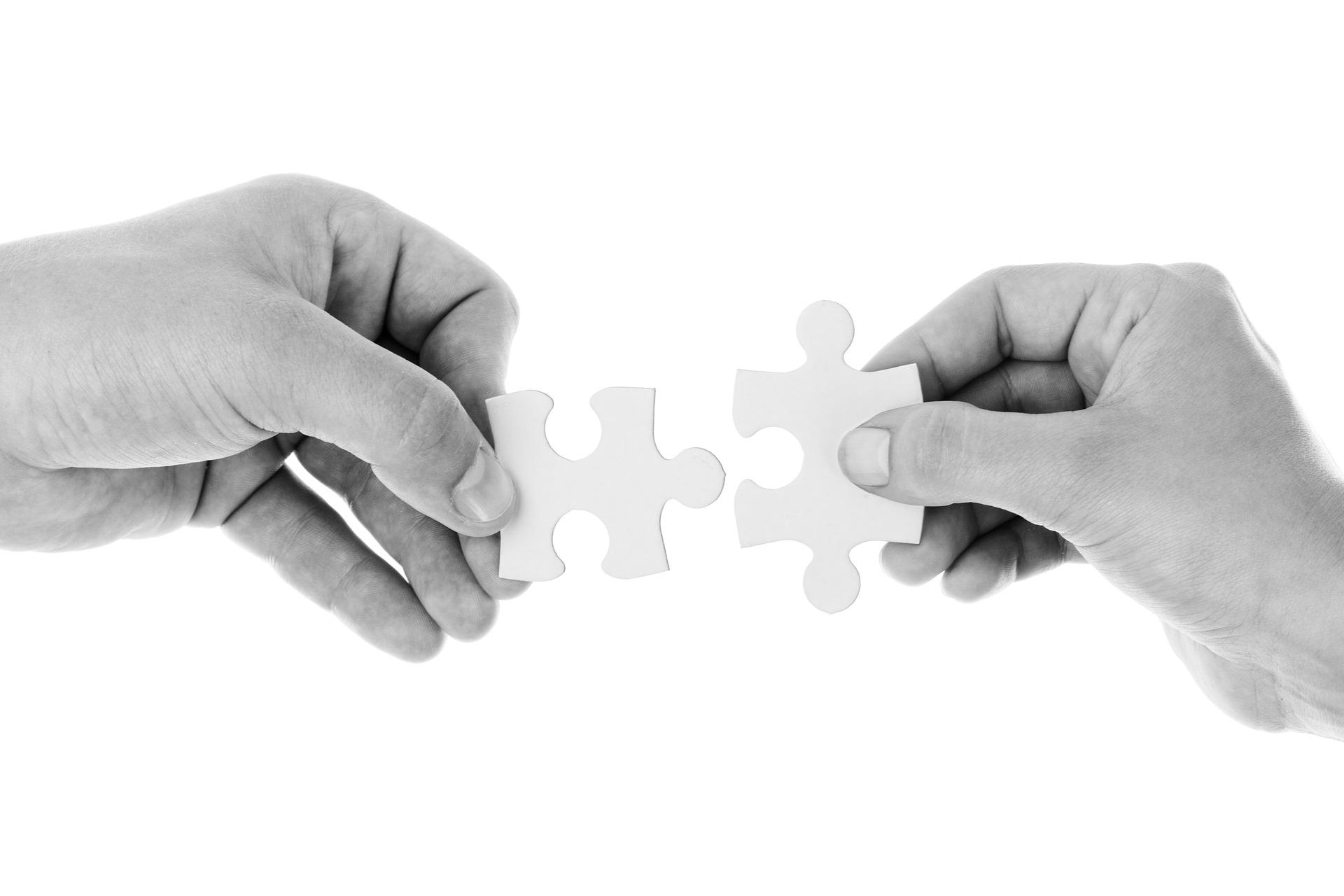 Tanken med standarder är att saker ska fungera smidigt tillsammans - som pusselbitarna i ett pussel.